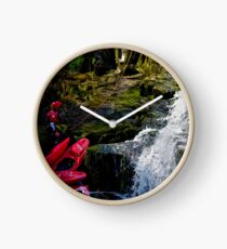 CANOE & ABSEIL  Clock