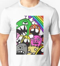 Monster Rainbow (colour variation) Unisex T-Shirt