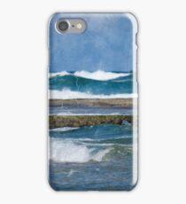 A Swim At The Beach iPhone Case/Skin