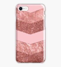 Rose Gold Pink Arrow iPhone Case/Skin