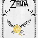 «Zelda legend - Fairy Navi doodle» de artetbe