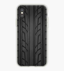 Race car tyre section iPhone Case