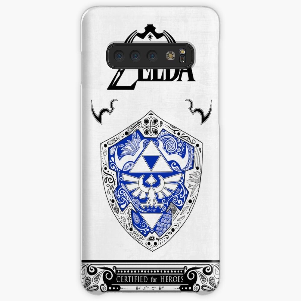 Zelda legend - Link Shield Doodle Fundas y vinilos para Samsung Galaxy