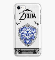 Zelda legend - Link Shield doodle iPhone Case/Skin