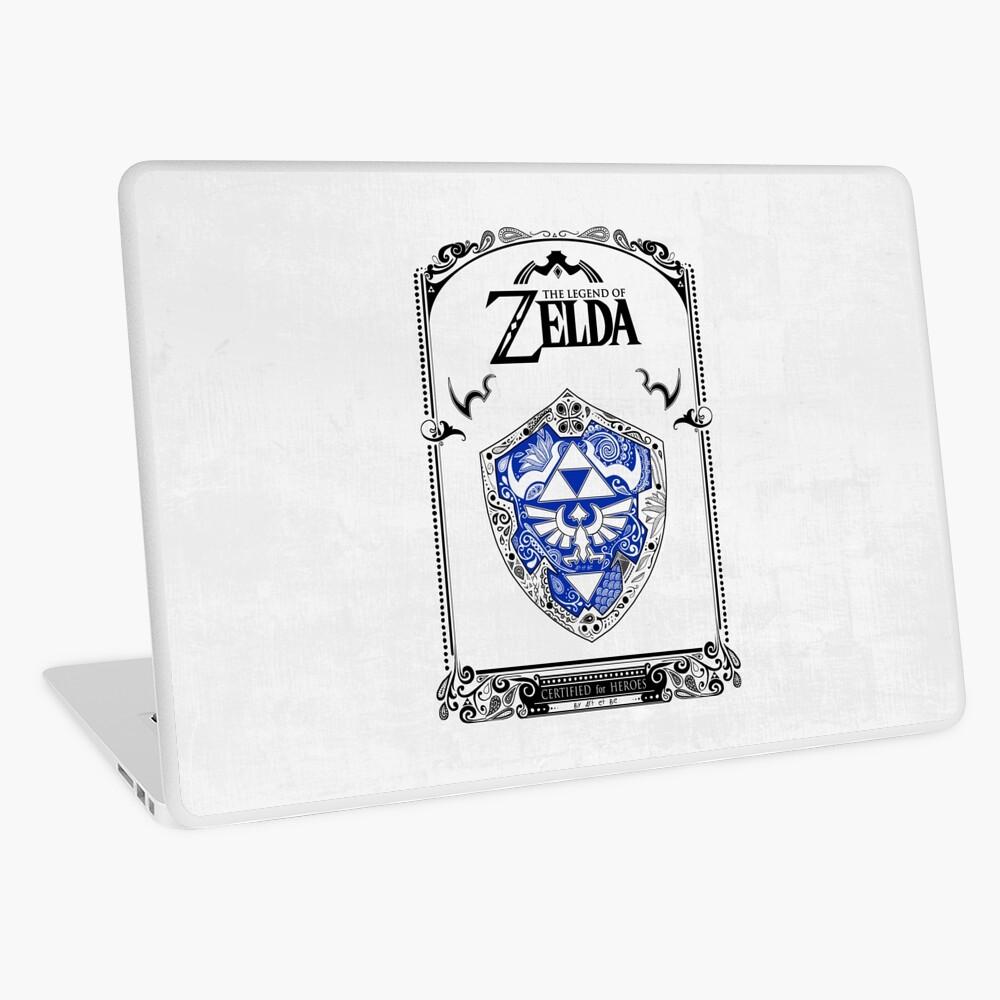 Zelda legend - Link Shield Doodle Vinilo para portátil