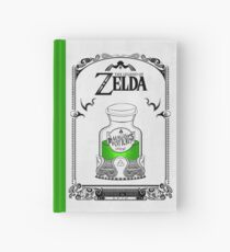 Zelda legend - Green potion Hardcover Journal