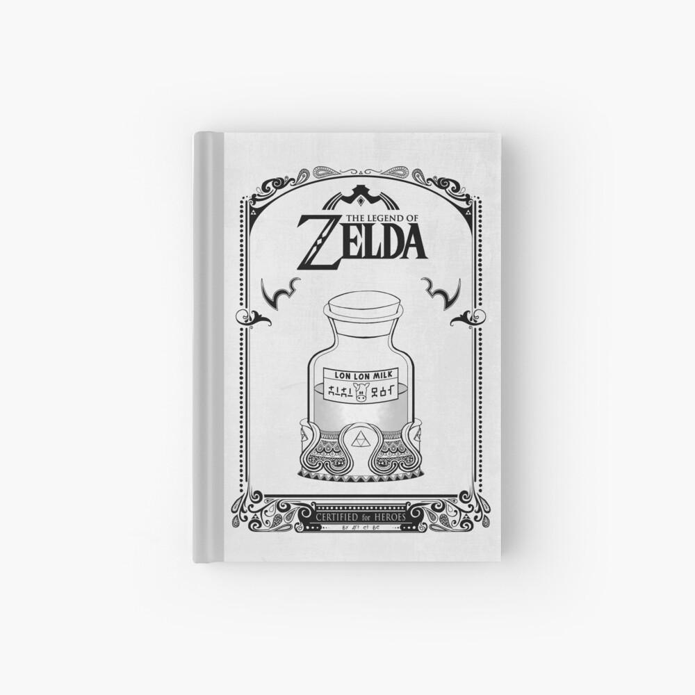 Leyenda de Zelda - Lon Lon Milk Cuaderno de tapa dura