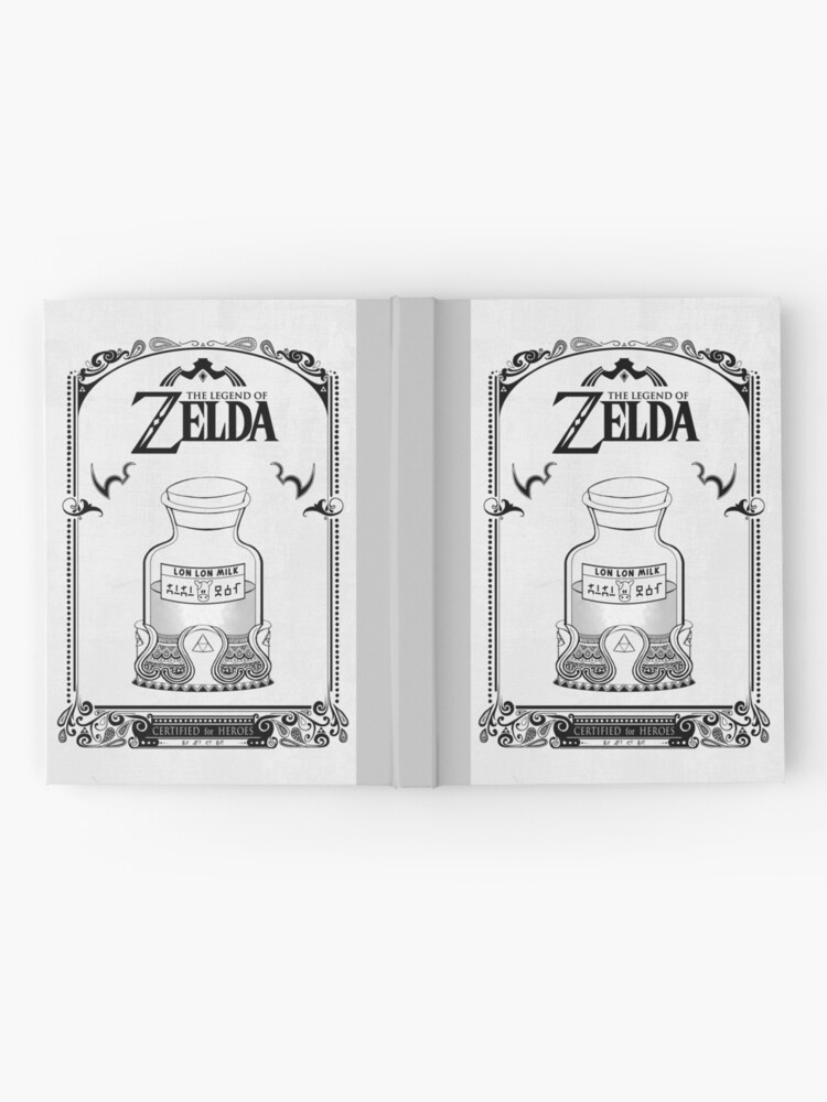 Vista alternativa de Cuaderno de tapa dura Leyenda de Zelda - Lon Lon Milk