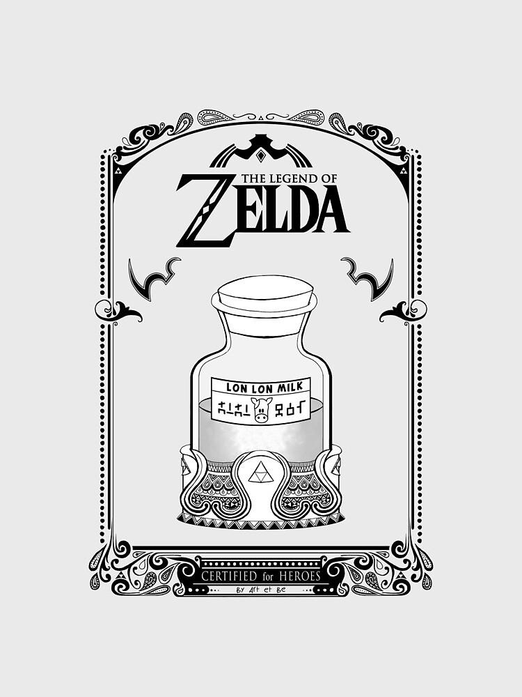 Leyenda de Zelda - Lon Lon Milk de artetbe