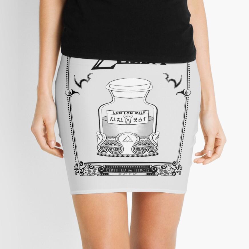 Leyenda de Zelda - Lon Lon Milk Minifalda