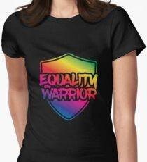 Equality Warrior Women's Fitted T-Shirt