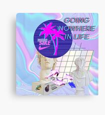 Going  Nowhere  In Life a e s t h e t i c Canvas Print