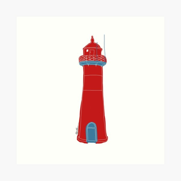 Lighthouse Kunstdruck