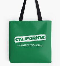 Star Wars California Wretched Hive Parody Tote Bag