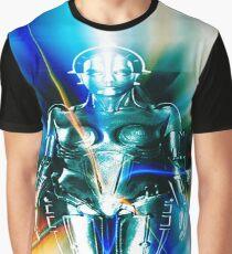 Star Light Robot Graphic T-Shirt