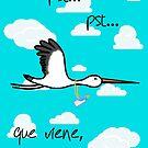 ¡¡¡Que viene el beibi!!! by lussqueittt08