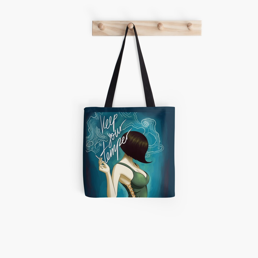 Keep Your Temper Caterpillar Tote Bag
