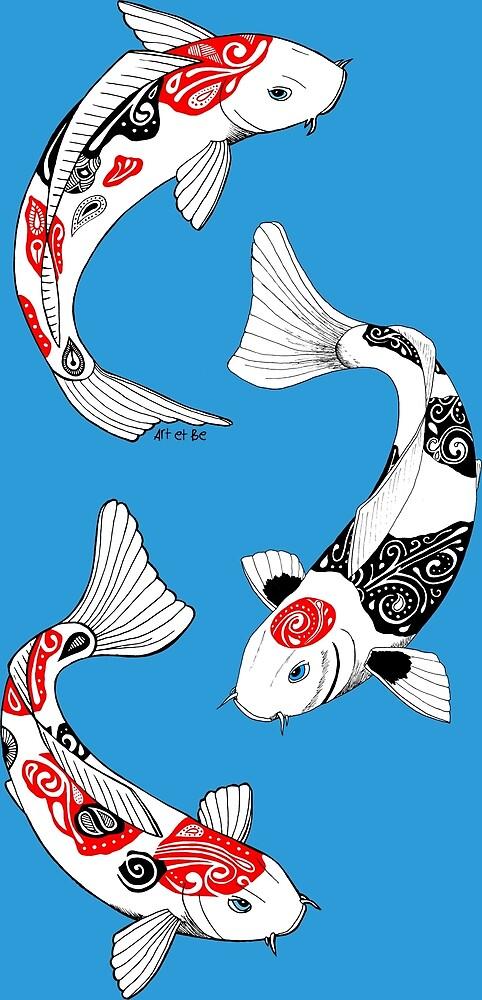 «carpa koi Fish (3)» de artetbe