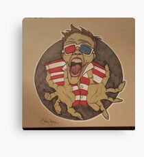 Screaming zombies Canvas Print