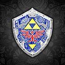 Zelda - Link Shield doodle by artetbe