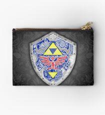 Zelda - Link Shield Gekritzel Täschchen