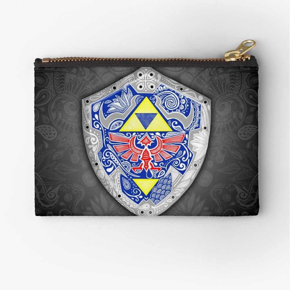 Zelda - Link Shield Doodle Bolsos de mano
