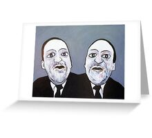Politicians - Left & Right Greeting Card