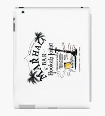 Marhala Bar - Indiana Jones Hookah Joint iPad Case/Skin