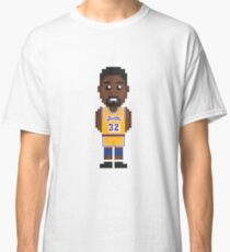 Magic Johnson - Los Angeles Lakers '85 / Pixel Art Classic T-Shirt
