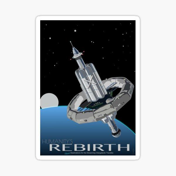 Rebirth of Humanity Sticker