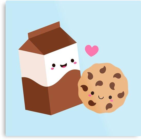 9def807aea12 Kawaii Chocolate Milk Carton and Cookie