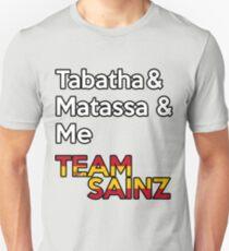 Team Sainz  Unisex T-Shirt