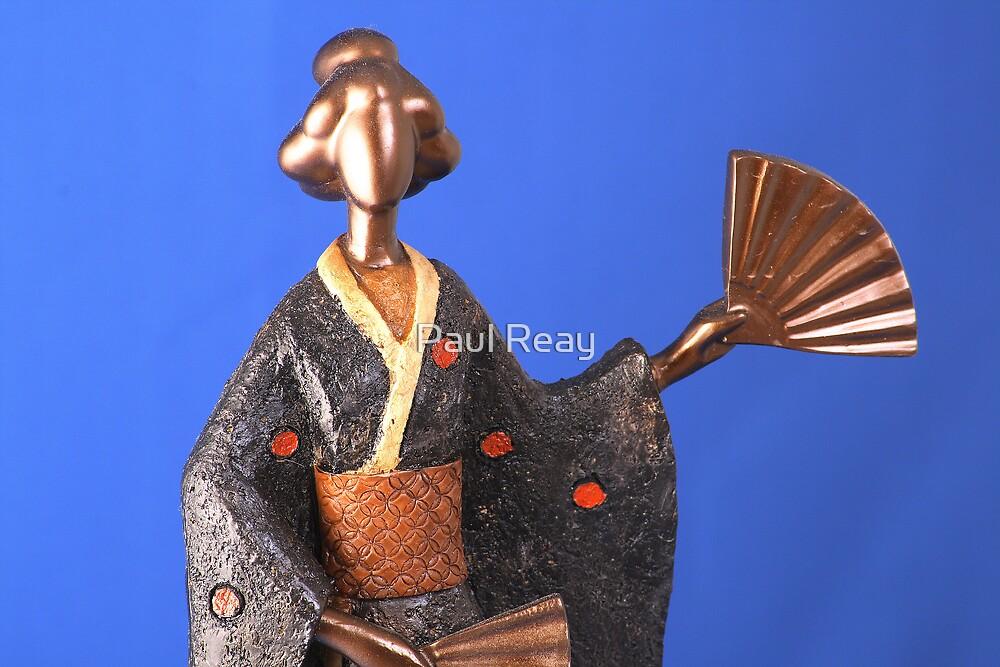 Geisha Figurine 6 by Paul Reay
