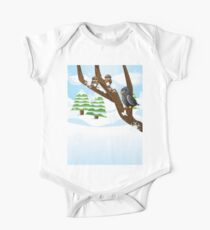Birds on branch Kids Clothes