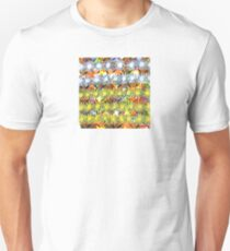 Rainbow Flower Pattern Unisex T-Shirt