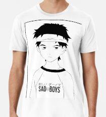 Sad Boys Naota Männer Premium T-Shirts