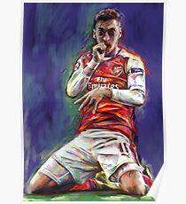 Mesut Ozil Celebration Poster