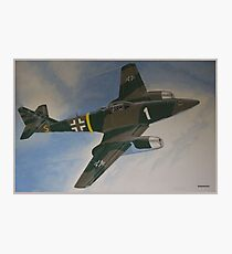 ME-262 WWII Jet Fighter Photographic Print