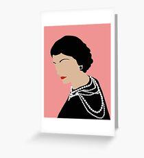 Coco - Gabrielle Greeting Card