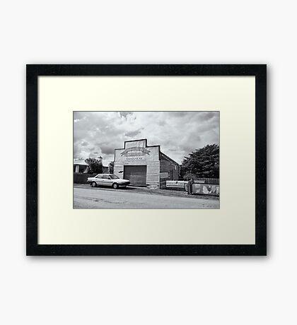 Monegeetta Produce Store Framed Print