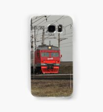 Commuter train countryside Samsung Galaxy Case/Skin
