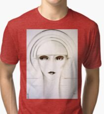 AUTOMATON, Jacqueline Mcculloch ,House of Harlequin Tri-blend T-Shirt