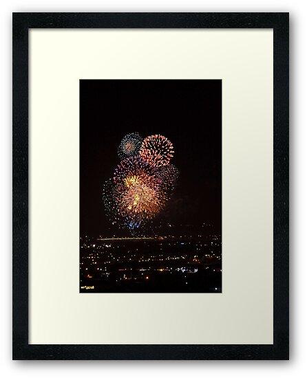 Australia Day Fireworks 2008  by EOS20