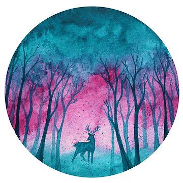 Pequeño bosque mágico de DiBeauteous