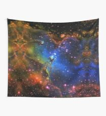 Galaxy Eagle Wall Tapestry
