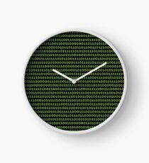 Binary Code Products Clock