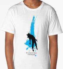 """""""For a minute there, I lost myself"""" - Radiohead - dark Long T-Shirt"""