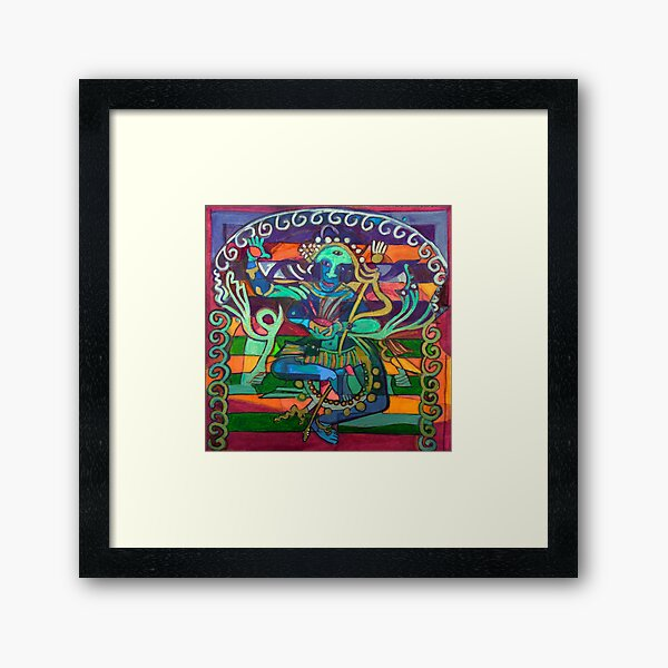 Hexagram 23-Po (Splitting Apart) Framed Art Print