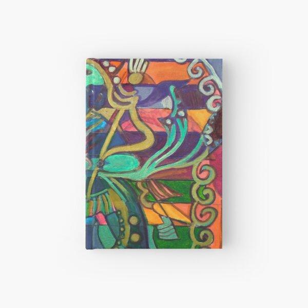 Hexagram 23-Po (Splitting Apart) Hardcover Journal