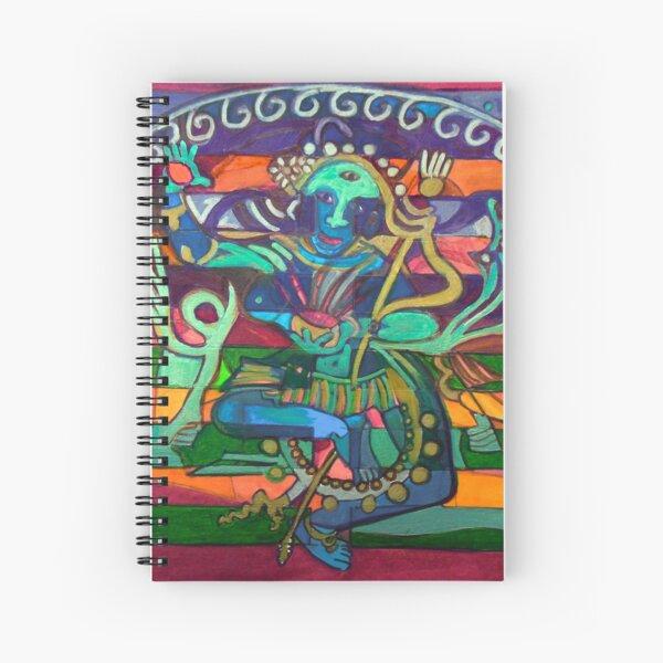 Hexagram 23-Po (Splitting Apart) Spiral Notebook